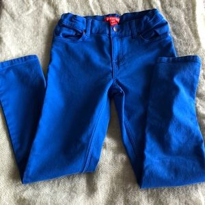 Stretchy pants for boys 10 years.